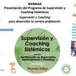 Webinar: Presentación del Programa de Formación de Supervisión